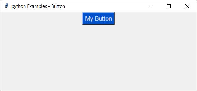 tkinter button - change font family