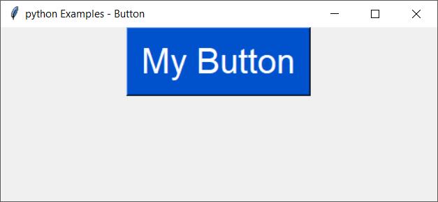 tkinter button - change font size