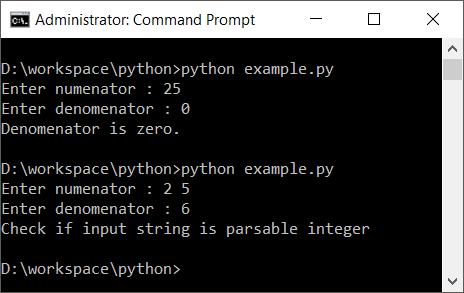 Python Try Except - Catch Exceptions or Errors