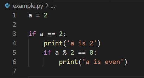 Python Indentation